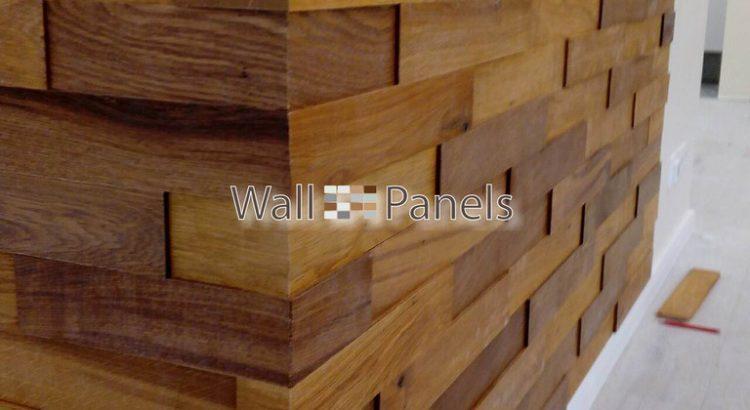 стеновые панели из массива дуба