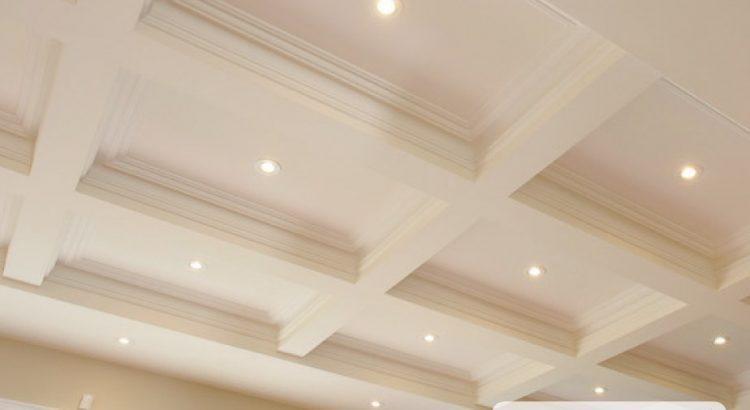 Кессонные потолки с покраской