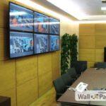 Стеновые панели в комнате для совещаний