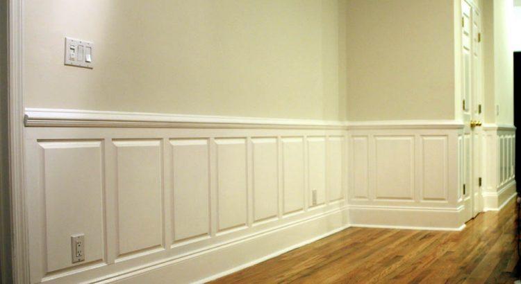 отделка стеновыми панелями в краске