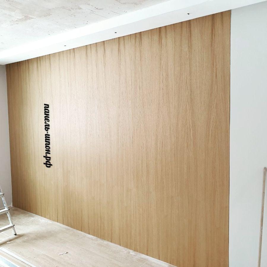 Стеновые панели шпонированные
