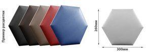 Стандартные мягкие стеновые панели шестигранником