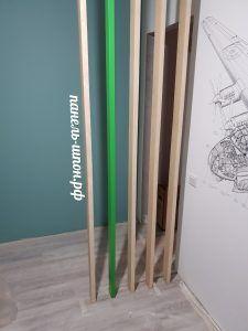 Решетчатые деревянные перегородки - Фото № 1