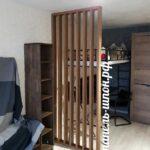 Решетчатые деревянные перегородки - Фото № 2