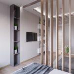 Решетчатые деревянные перегородки - Фото № 9