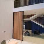 Решетчатые деревянные перегородки - Фото № 4
