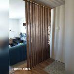 Решетчатые деревянные перегородки - Фото № 11