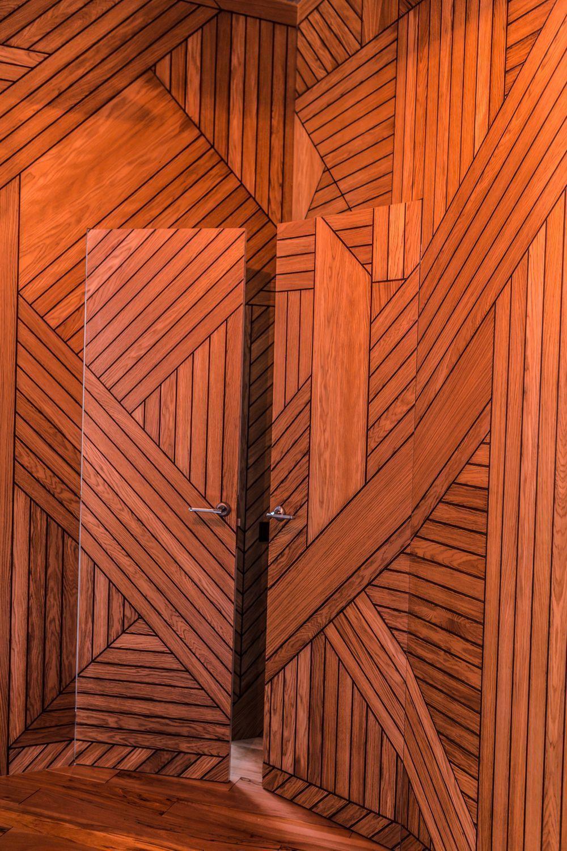 Фрезерованные панели с подбором шпона