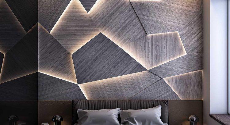 Объемные панели с подсветкой